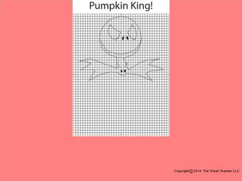Halloween Graphing Bundle (Jack Skellington Style)