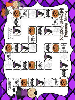 Halloween Math Game Graphing