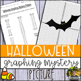 Halloween Graphing Mystery Picture (Coordinate Grid & Ordered Pairs)