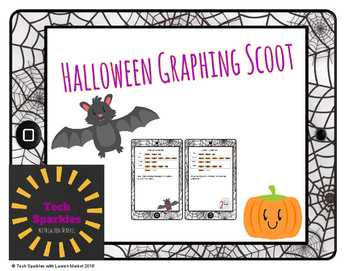 Halloween Graphing School VA SOL 3.17
