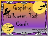 Halloween Graphing Task Cards 5th Grade 5.8A, 5.8B, 5.8C, 5.G.A.1