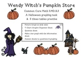 Halloween Graph Wendy Witch's Pumpkin Store Common Core Ma
