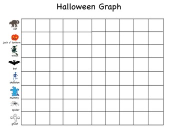 Halloween Graphing in Kid Pix