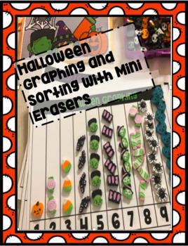 Halloween Graphing using Mini Erasers