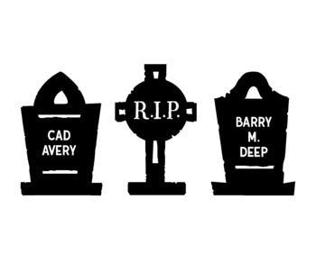 Halloween Gravestone Clip Art