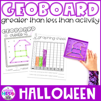 Greater Than Less Than Activity for Halloween