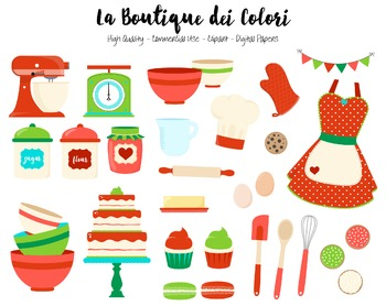 Christmas Baking Clipart - PNG Cute Clip Art Graphics - Fo