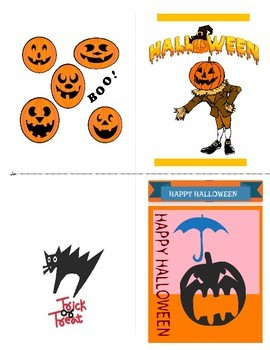 Halloween Greeting Card Bundle