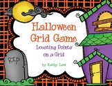 Halloween Grid -- Coordinates on a Grid Game
