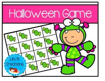 Halloween Grid Game