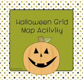 Halloween Grid Map Activity