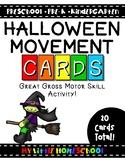 Halloween Gross Motor Skill Movement & Brain Break Cards