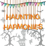 Halloween Group Music Lesson Pack: Haunting Harmonies