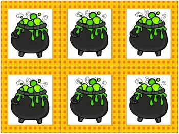 Halloween Grouping Cards