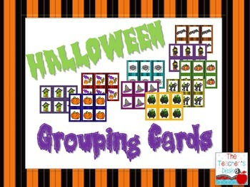 Halloween Grouping Cards