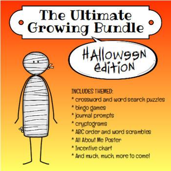 Halloween Growing Bundle