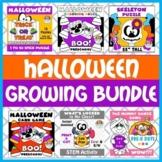 Halloween Growing Bundle Pre-K and Kinder