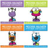 Halloween Bundle Preschool & Kindergarten Worksheets