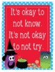 """Halloween Growth Mindset Posters - 8.5""""x11"""", 18""""x24"""" - Ready for Printing"""
