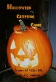 Hallowe'en Guessing Game