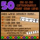 Halloween Guided Reading Cards