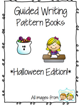 Halloween Guided Writing Pattern Prompts for Emerging Writers