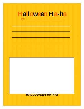 Halloween Ha Ha! bulletin board