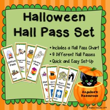 Halloween Hall Pass