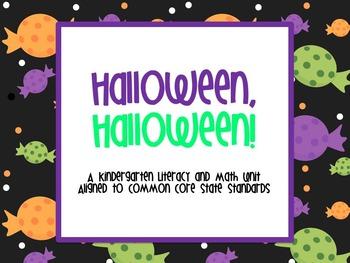 Halloween! Halloween! A Kindergarten Unit Aligned to CCSS