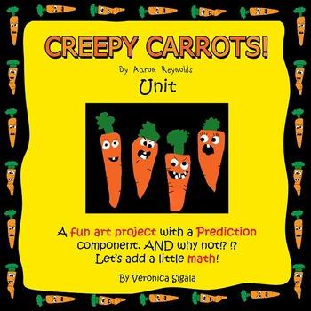 Halloween, Halloween Activities, Halloween Writing CREEPY CARROTS Craft