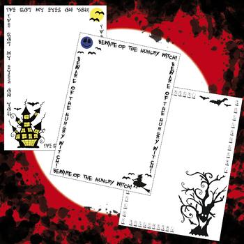 Halloween, Halloween Frames Clip Art
