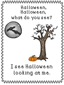 Halloween, Halloween, What Do You See?
