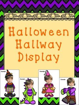 Halloween Hallway Display