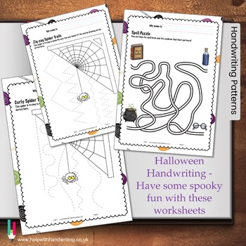 Halloween Handwriting