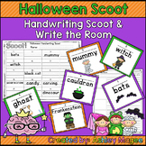Halloween Handwriting Scoot or Write the Room