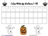 Halloween Handwriting sheets