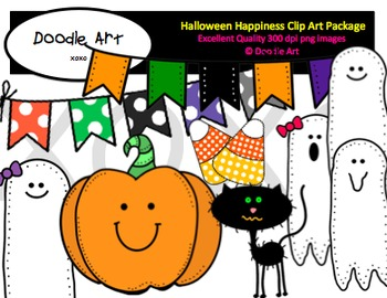 Halloween Happiness Clipart Pack
