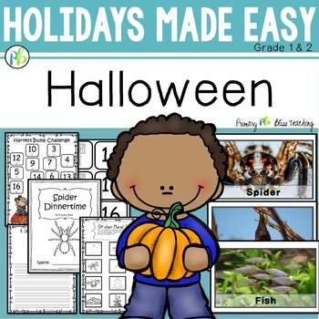 Halloween Made Easy for First and Second Grade ~ A Day of Learning and Fun