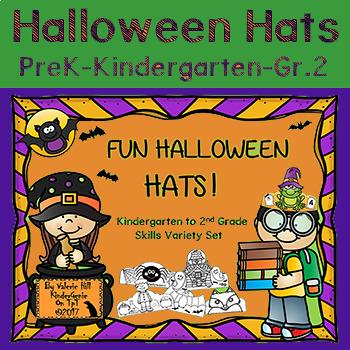 Halloween Hats - Kindergarten to 2nd Grade