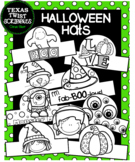 Halloween Hats 15 Styles {Texas Twist Scribbles)