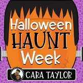 Halloween Haunt Week - Engaging Halloween Activities!