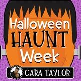 Halloween Haunt Week - Engaging Halloween Activities!