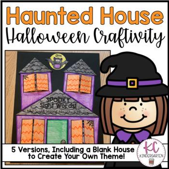 Halloween Haunted House Craftivity!