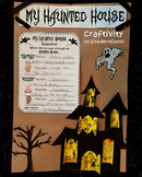 Halloween Craftivity Haunted House!