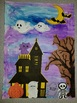 Halloween Haunted House Craftivity Craft with Detailed Instructions