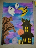 Halloween Haunted House Craftivity Craft with Detailed Ins