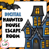 Halloween Haunted House Digital Escape Room for Class Part