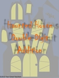 Halloween Haunted House Double Digit Addition