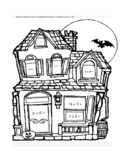 Halloween Haunted House Doubles Multiplication Math Facts