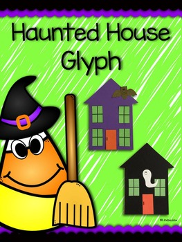Halloween Haunted House Glyph
